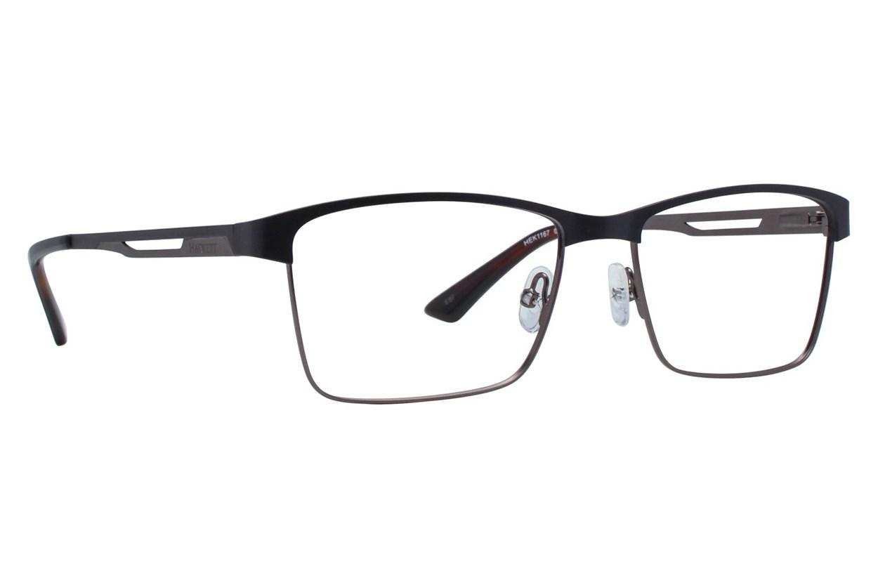 Hackett London Large Fit HEK1167 Black Eyeglasses