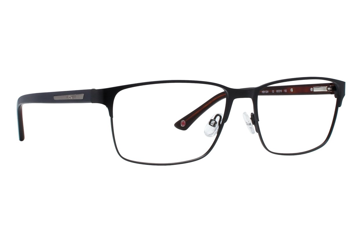 Hackett London Large Fit HEK1204 Black Eyeglasses