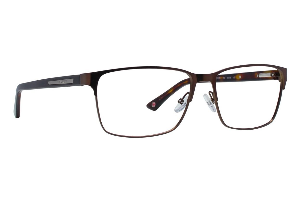 Hackett London Large Fit HEK1204 Brown Eyeglasses