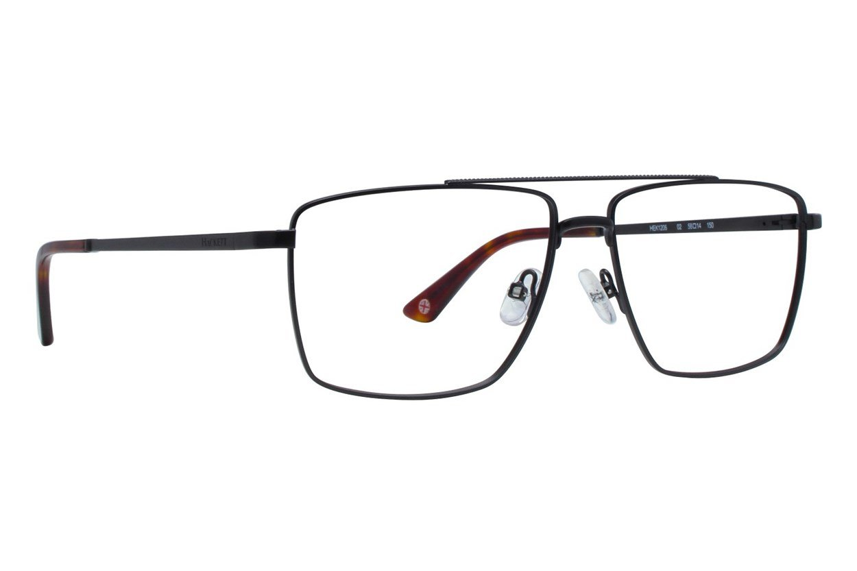 Hackett London Large Fit HEK1206 Black Eyeglasses