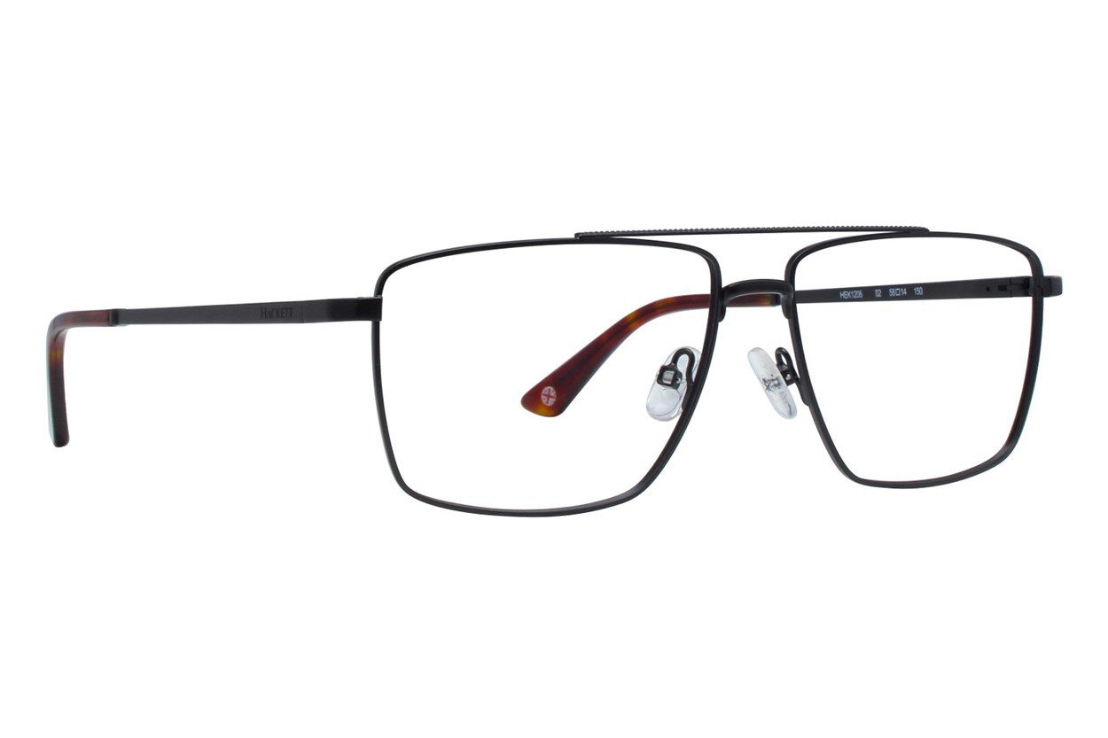 Hackett London Large Fit HEK1206 Black Eyeglasses