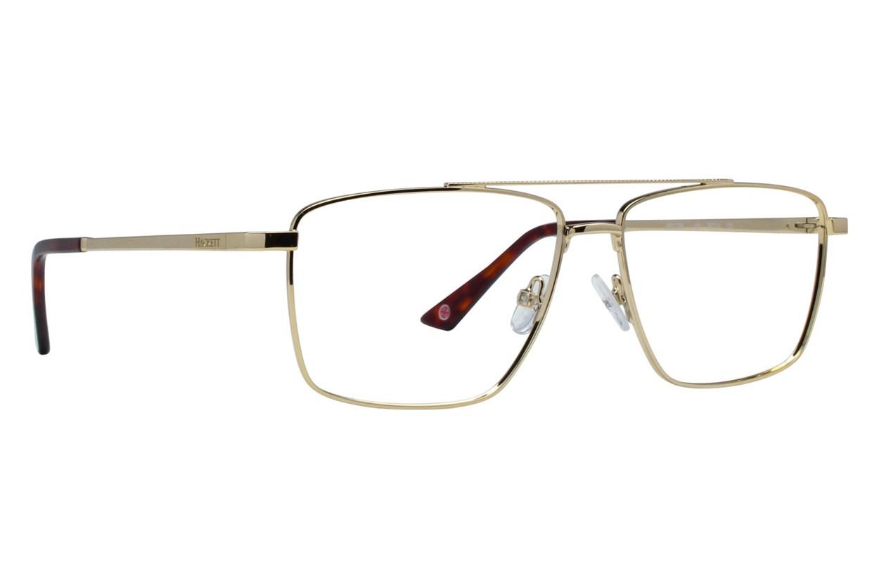 Hackett London Large Fit HEK1206 Gold Eyeglasses