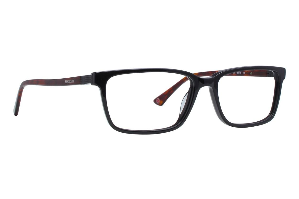 Hackett London Large Fit HEK1214 Black Eyeglasses