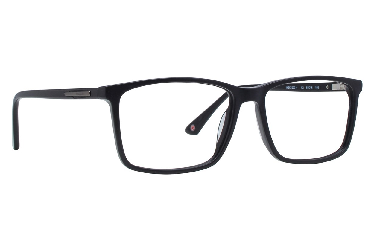 Hackett London Large Fit HEK1233 Black Eyeglasses