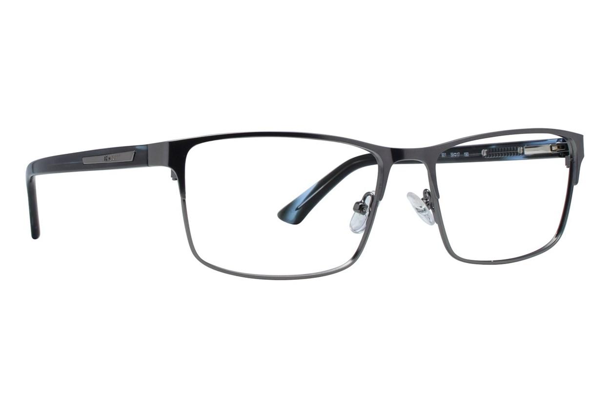 Hackett London Large Fit HEK1244 Gray Eyeglasses