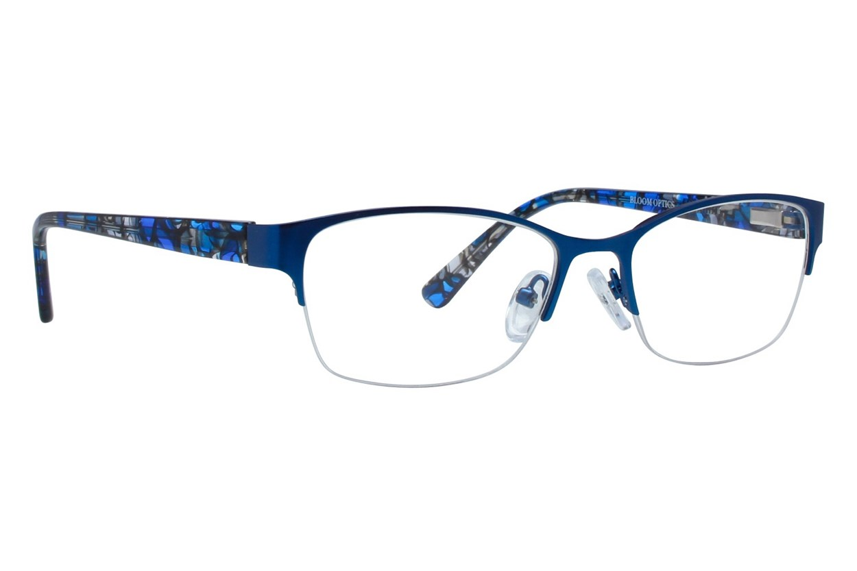 Bloom Optics Petite Carla Blue Eyeglasses