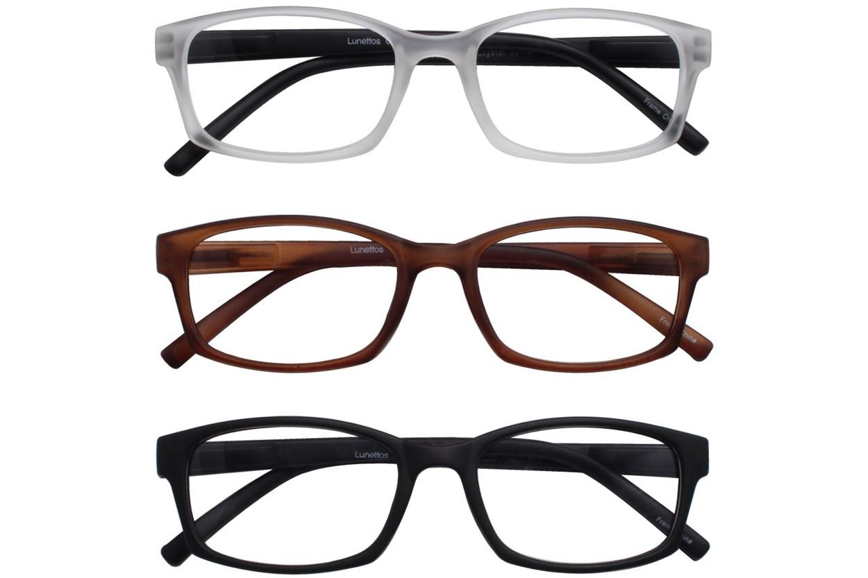 Lunettos Breslin Reading Glasses 3-Pack