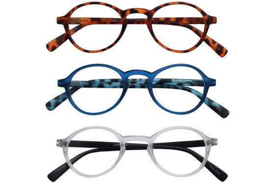 Lunettos River Reading Glasses 3-Pack
