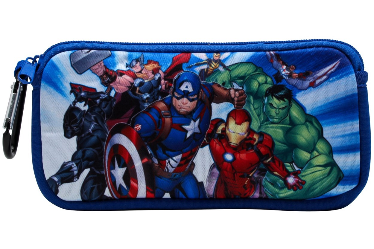 Alternate Image 1 - Marvel Avengers CPAV903 Blue Sunglasses
