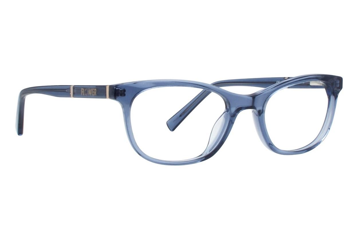 Flower Eyewear FLR6003 - Maggie Blue Eyeglasses