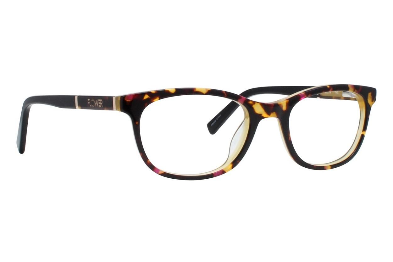 Flower Eyewear FLR6003 - Maggie Tortoise Eyeglasses