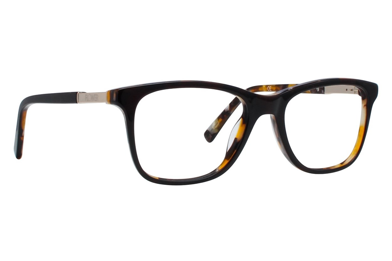 Flower Eyewear FLR6015 - Skylar Brown Eyeglasses
