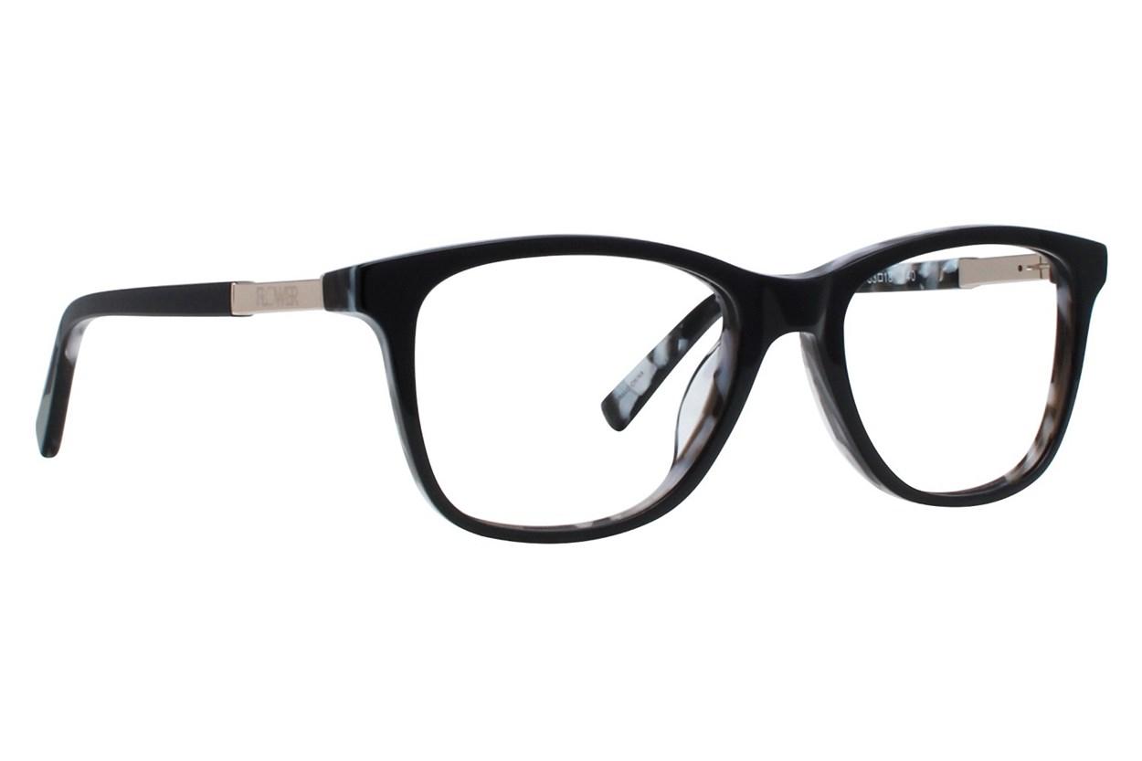 Flower Eyewear FLR6015 - Skylar Black Eyeglasses