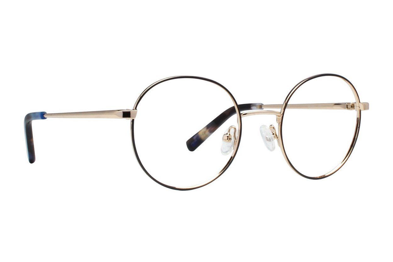 Flower Eyewear FLR6037 - Rosie Gold Eyeglasses