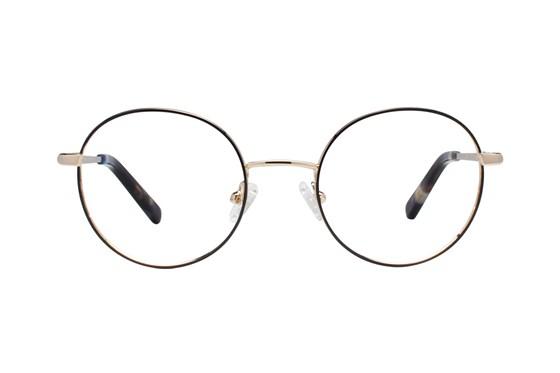 Flower Eyewear FLR6037 - Rosie Gold Eyeglasses