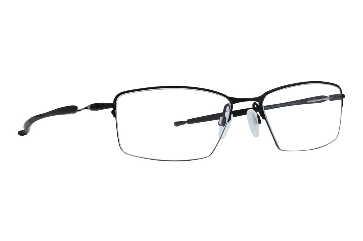 Oakley Lizard (56) Black Eyeglasses