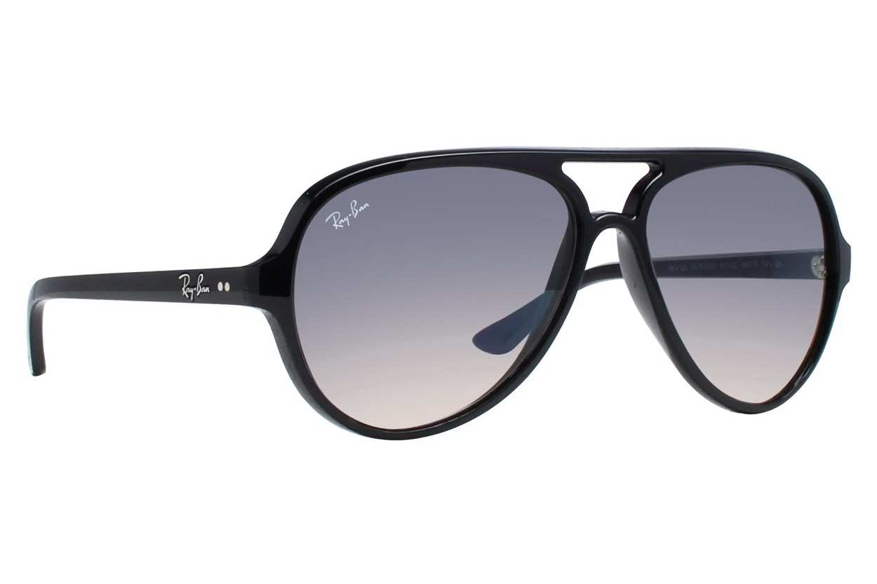 Ray-Ban® RB4125 CATS 5000 Black Sunglasses