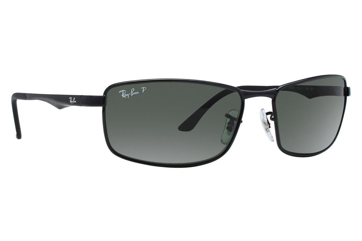 Ray-Ban® RB3498 Black Sunglasses