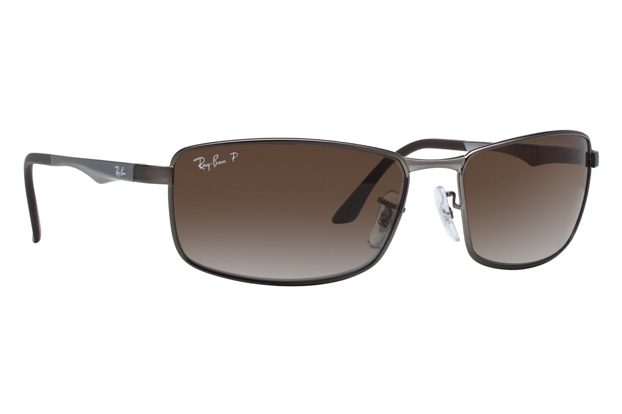 Ray-Ban® RB3498 Gray Sunglasses