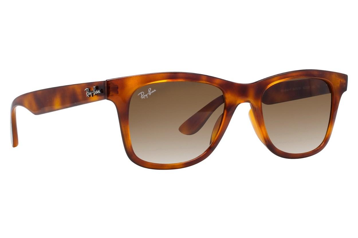 Ray-Ban® RB4640F Low Bridge Fit Tortoise Sunglasses