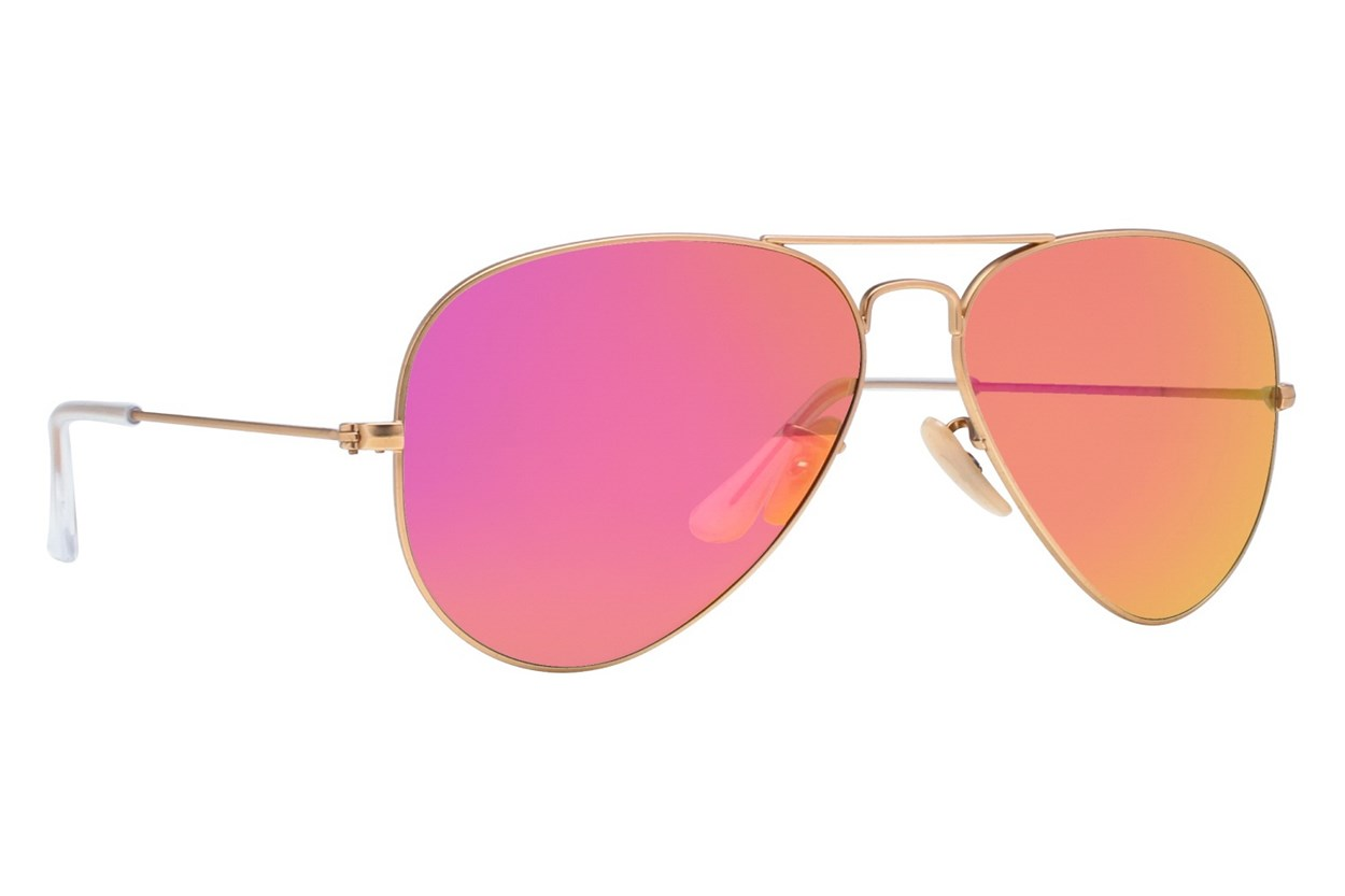 Ray-Ban® RB3025 Mirror Gold Sunglasses