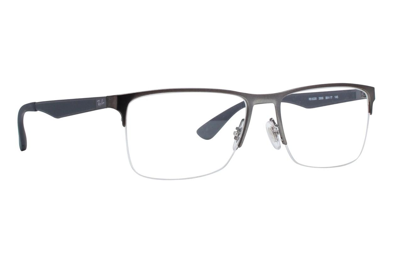 Ray-Ban® RX6335 Gray Eyeglasses