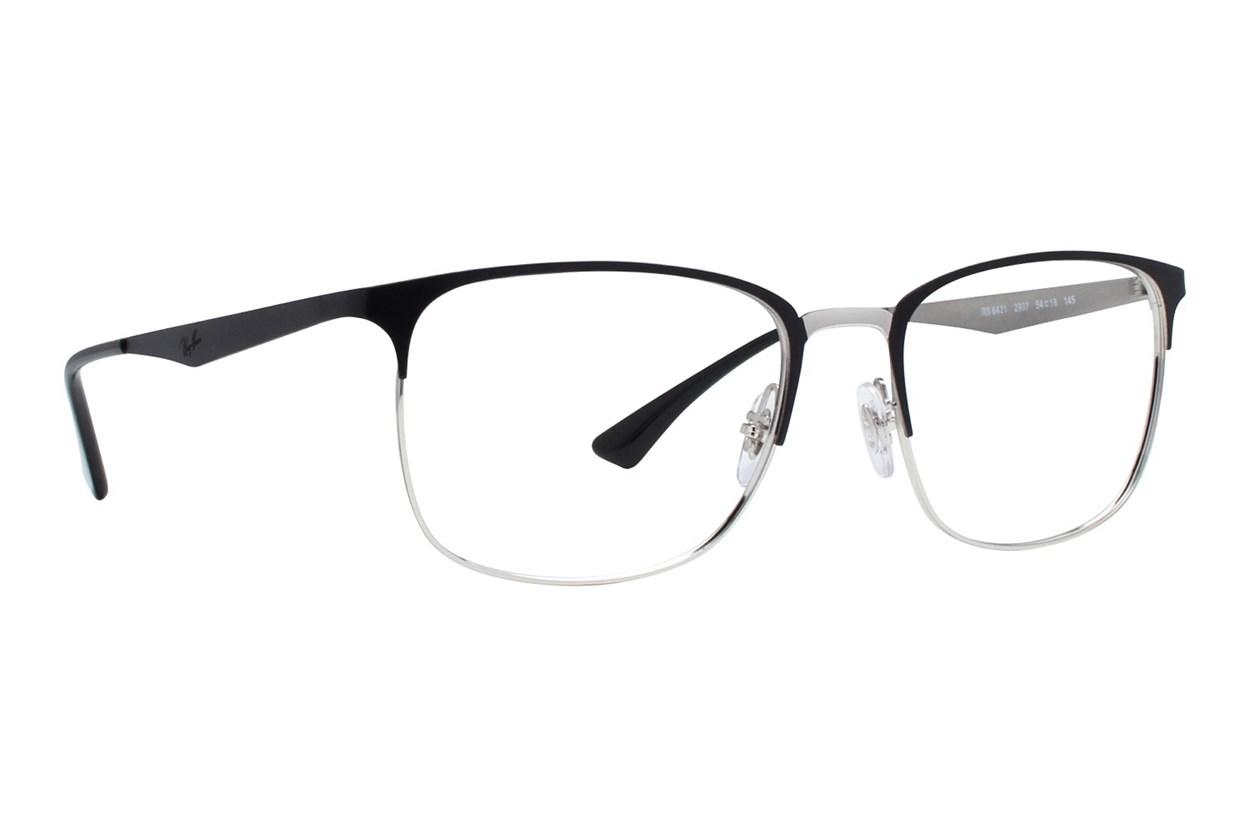 Ray-Ban® RX6421 Silver Eyeglasses