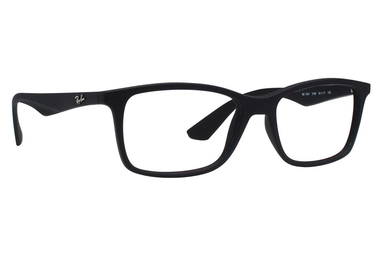 Ray-Ban® RX7047 Black Eyeglasses