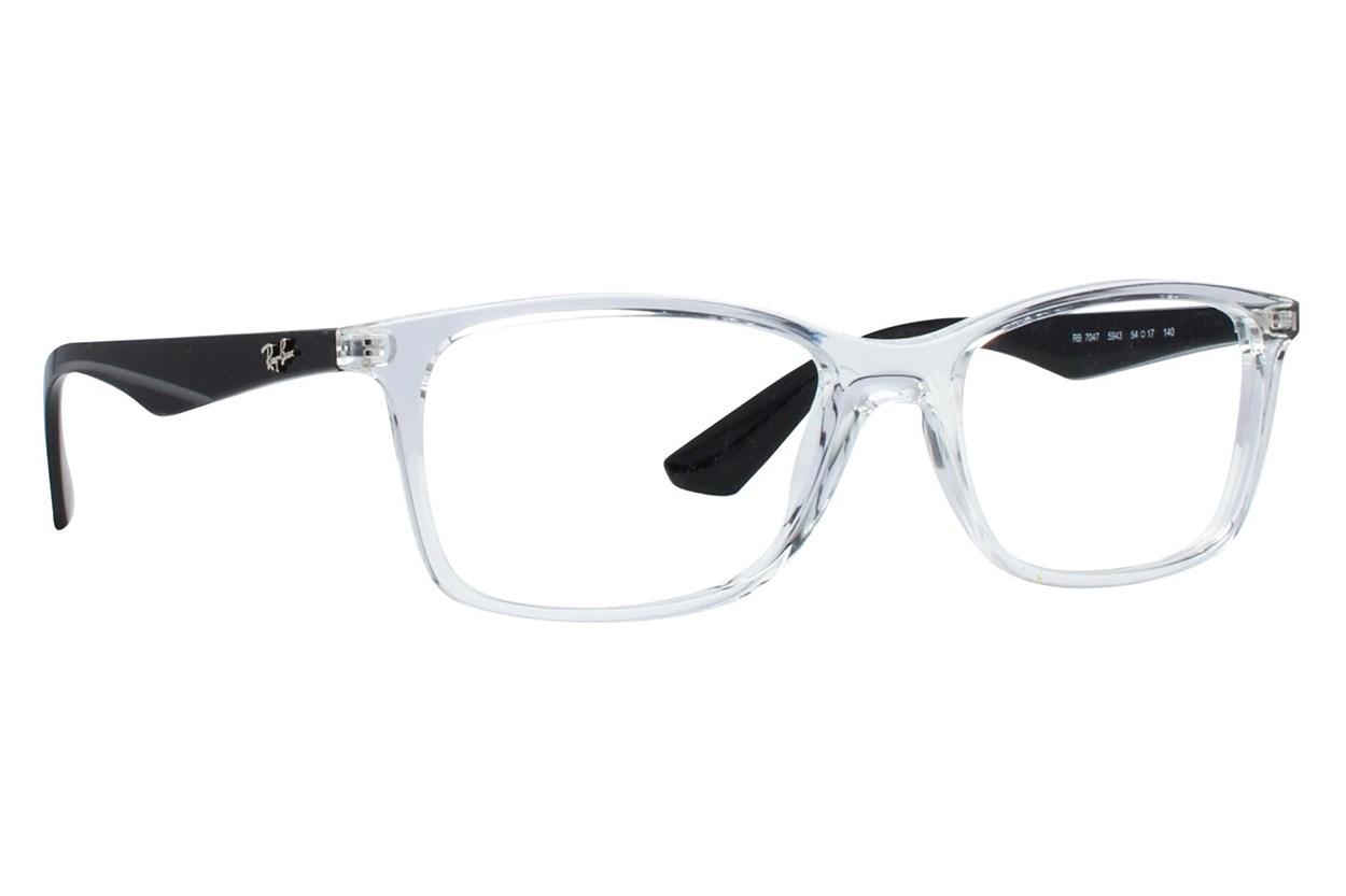 Ray-Ban® RX7047 Clear Eyeglasses