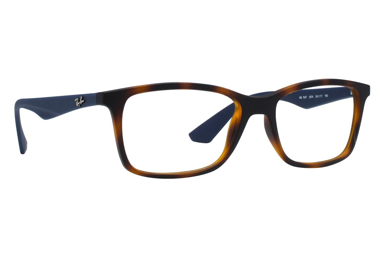 Ray-Ban® RX7047 Tortoise Eyeglasses
