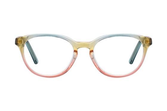 Picklez Luna Yellow Eyeglasses