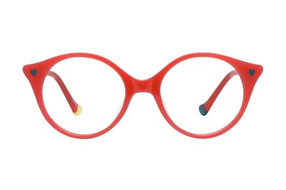 Picklez Sophie Orange Eyeglasses