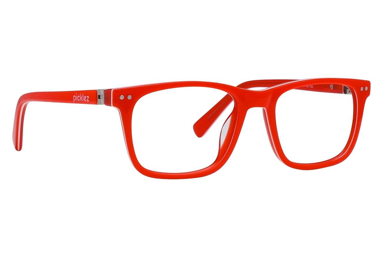 Picklez Champ Red Eyeglasses