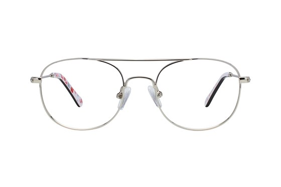 Picklez Ernie Silver Eyeglasses