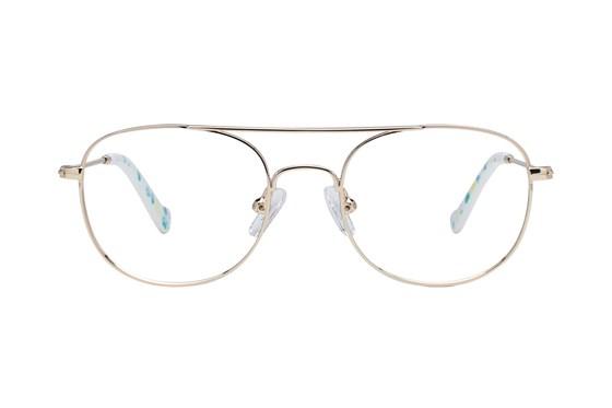 Picklez Ernie Gold Eyeglasses