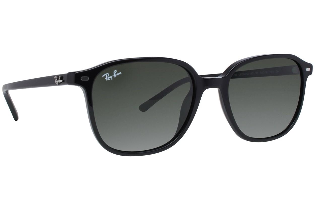 Ray-Ban® RB2193 Leonard Black Sunglasses