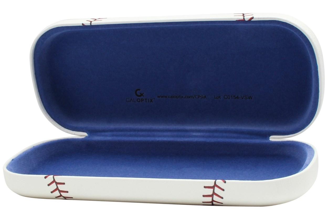 Alternate Image 1 - CalOptix Baseball Eyeglass Case White GlassesCases