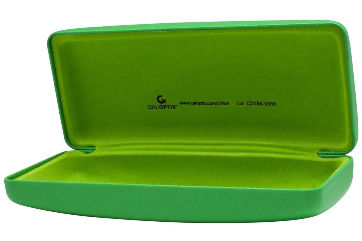 Alternate Image 1 - CalOptix Green Gamer Eyeglass Case Green GlassesCases