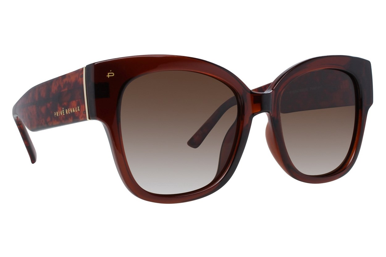 Prive Revaux The M.I.A. Brown Sunglasses