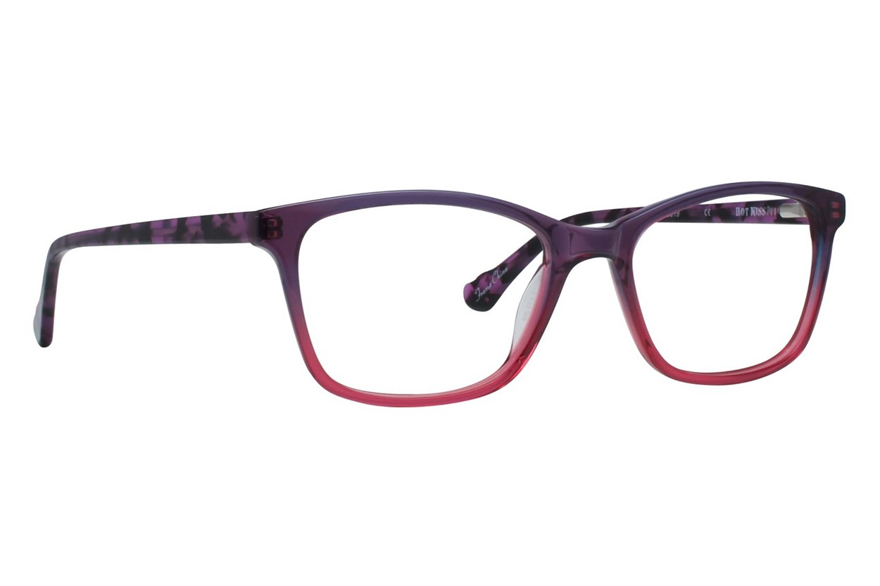 Hot Kiss HK92 Purple Eyeglasses