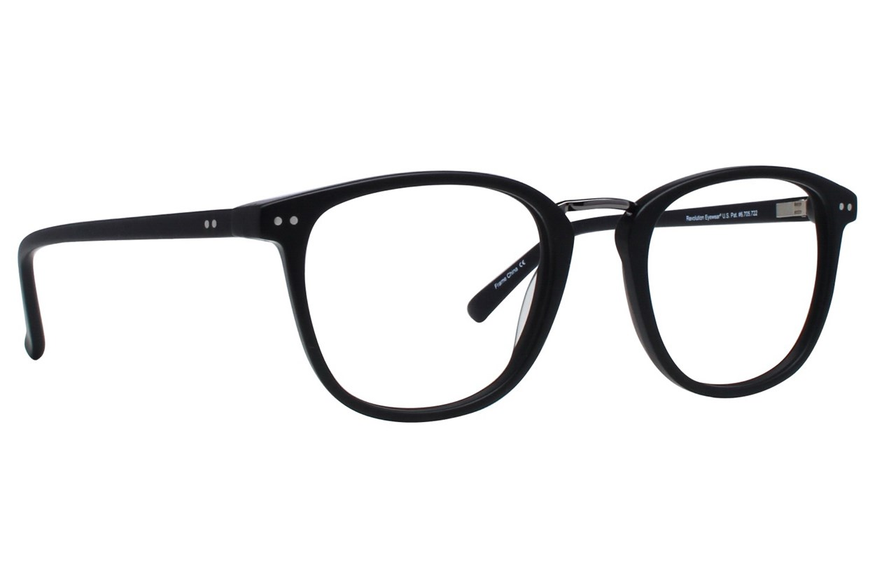 Revolution Cambridge Black Eyeglasses