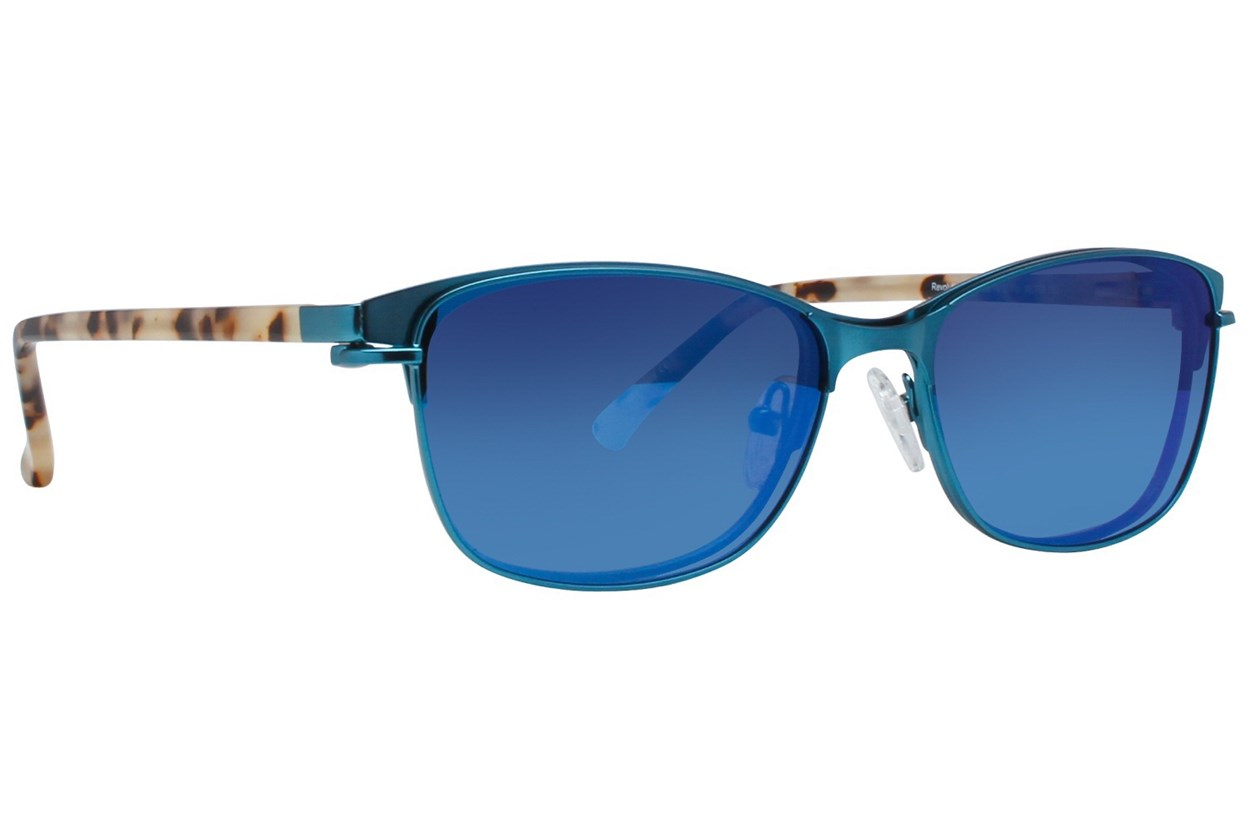 Alternate Image 1 - Revolution Edison Turquoise Eyeglasses