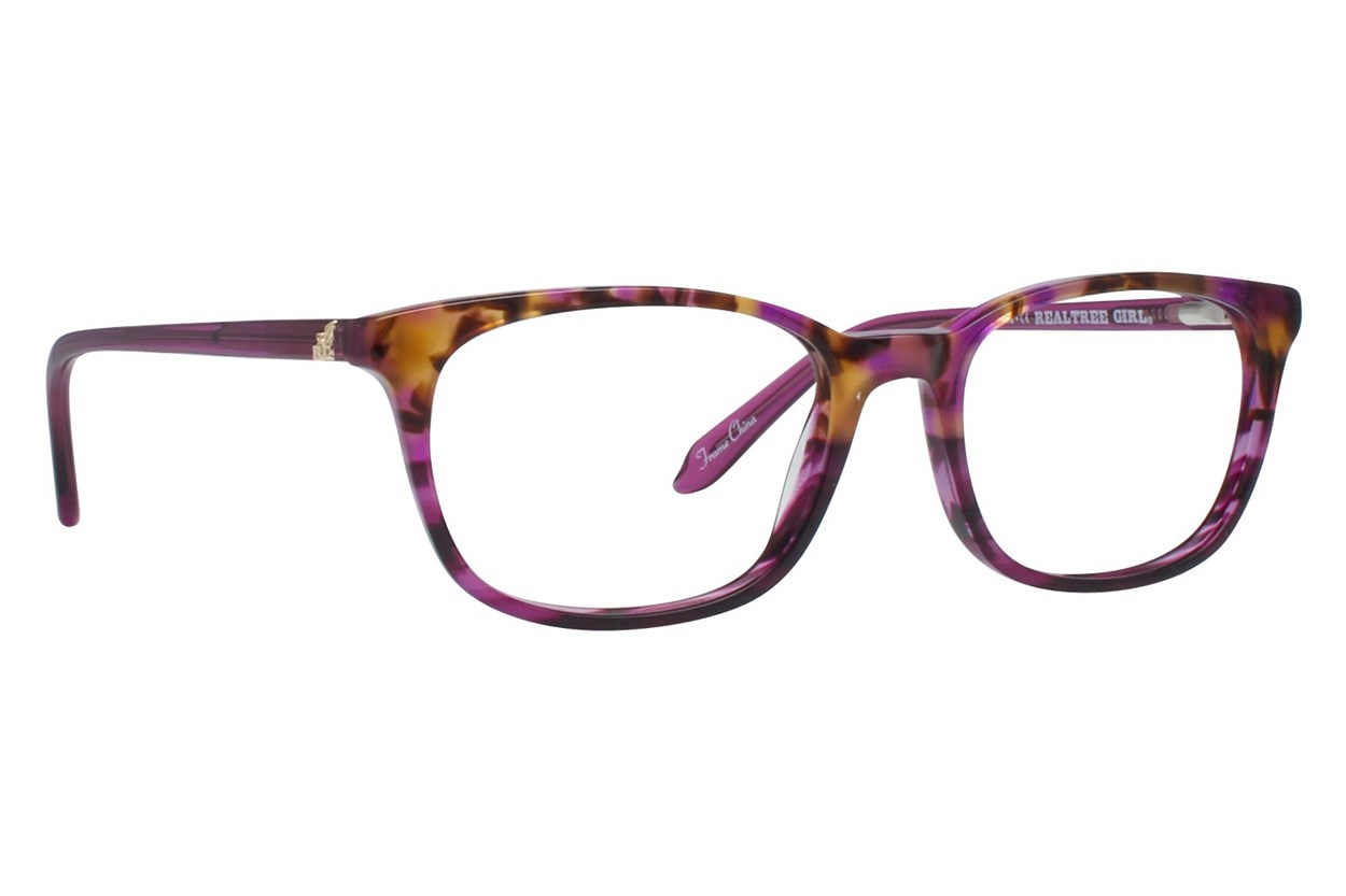 Realtree Girl G319 Purple Eyeglasses