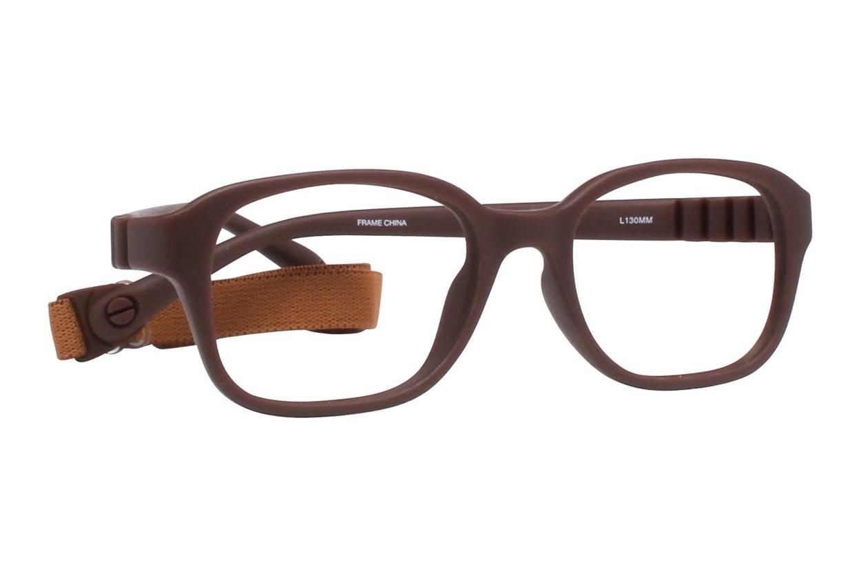 dilli dalli Mud Slide Brown Eyeglasses