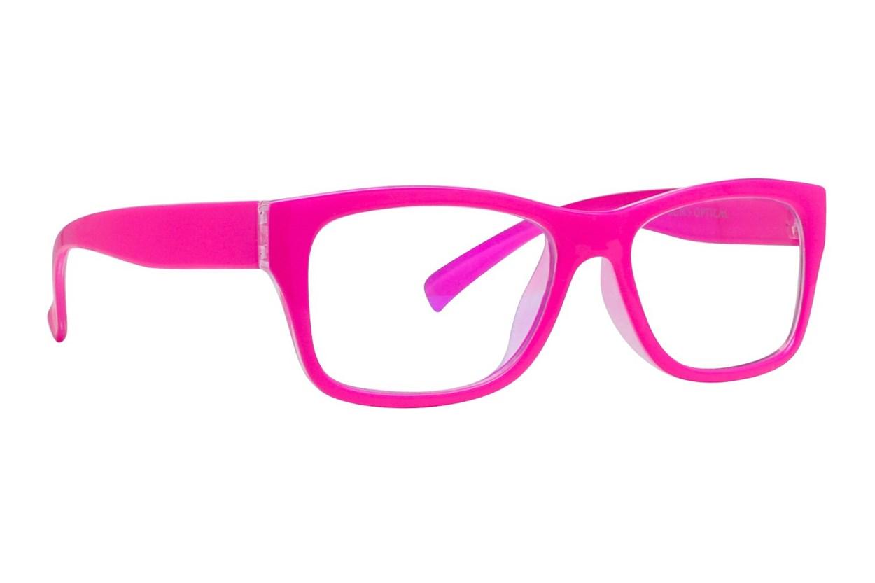 I Heart Eyewear Jamie Computer Glasses Pink ComputerVisionAides