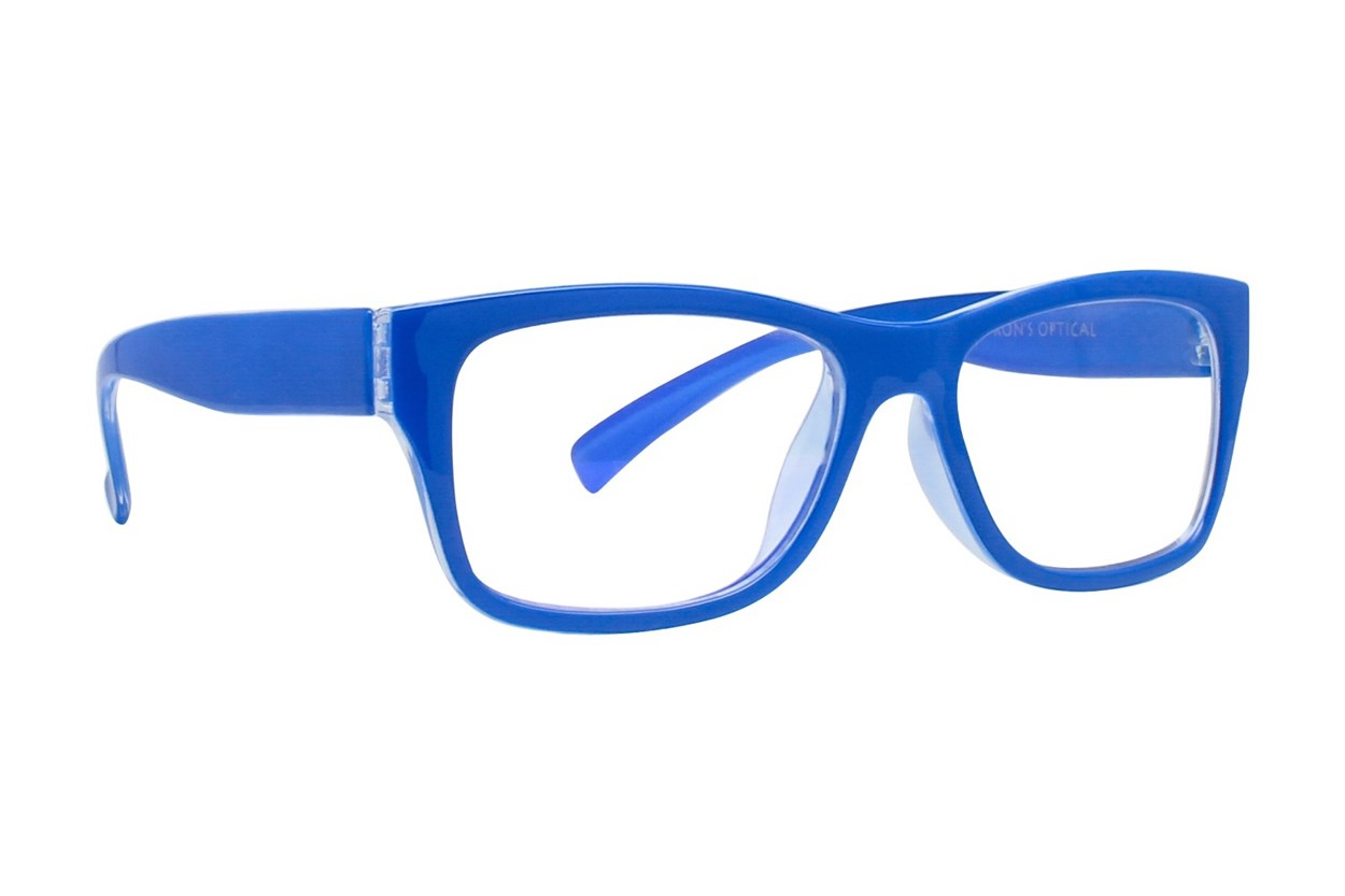 I Heart Eyewear Jamie Computer Glasses Blue ComputerVisionAides