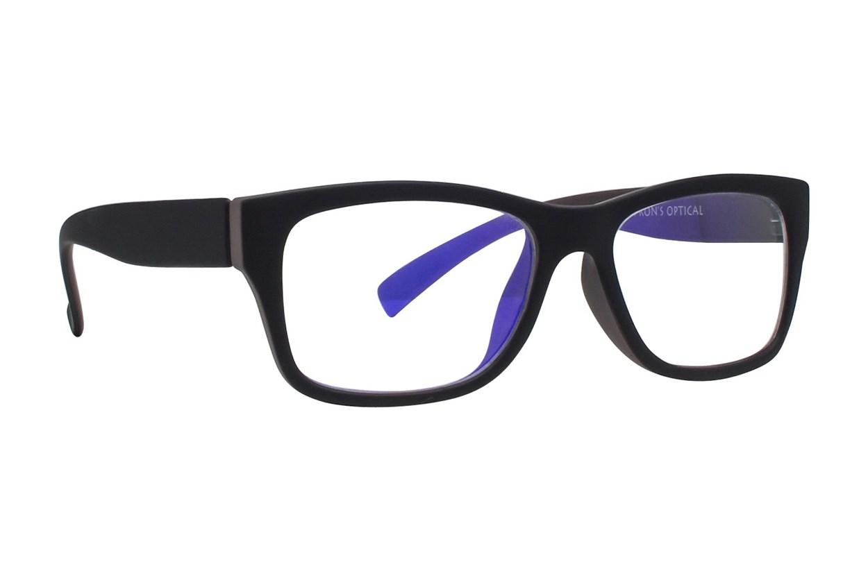 I Heart Eyewear Milo Computer Glasses Black ComputerVisionAides