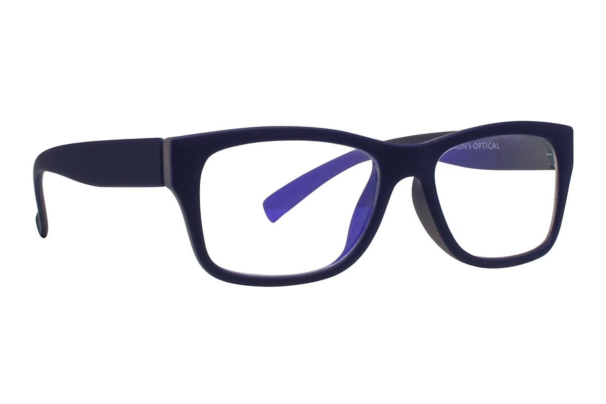 I Heart Eyewear Milo Computer Glasses Blue ComputerVisionAides