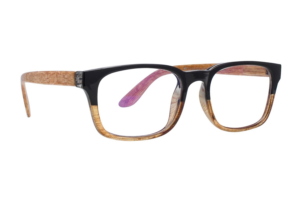 I Heart Eyewear Foster Computer Glasses Black ComputerVisionAides