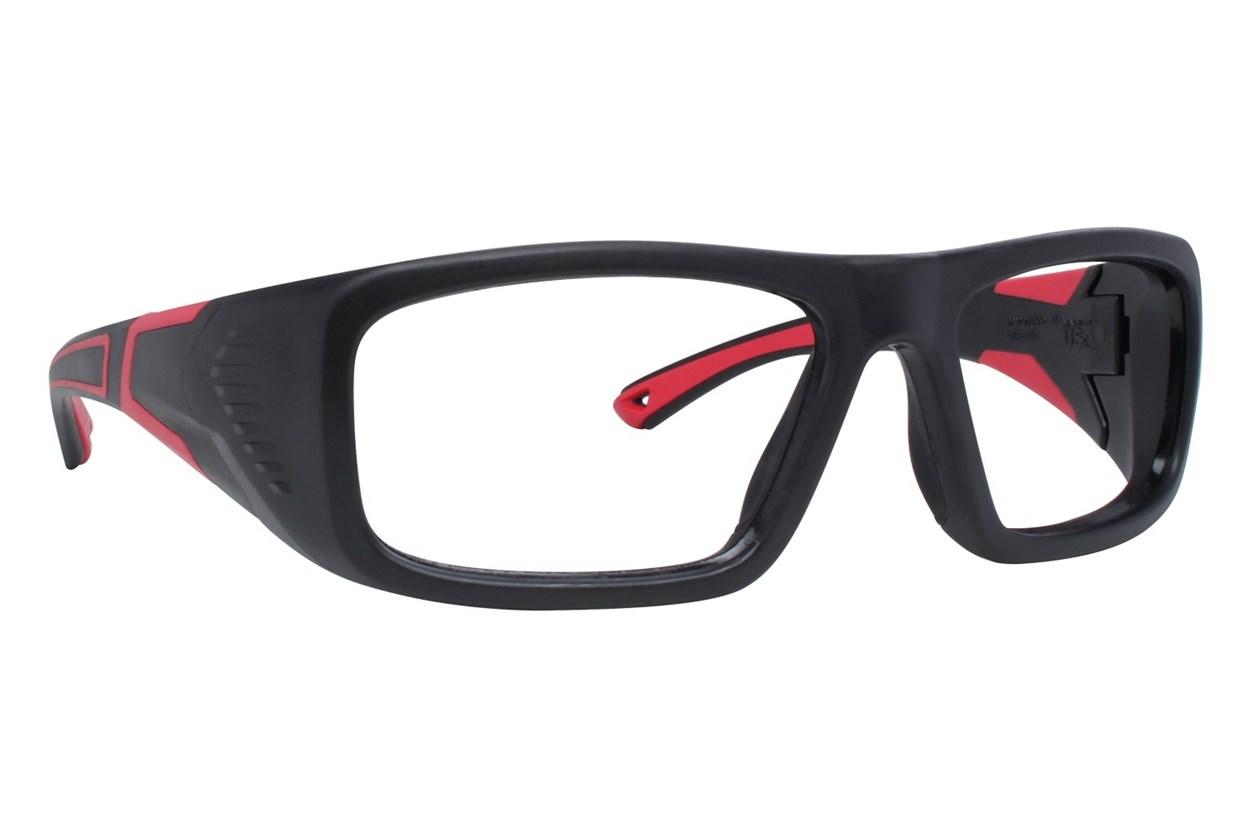 OnGuard US 110FS Safety Glasses Black Eyeglasses